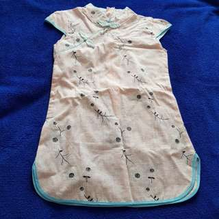 Kids Cheongsam For CNY size 6 and size 8