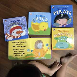 5 touch and feel board books for babies