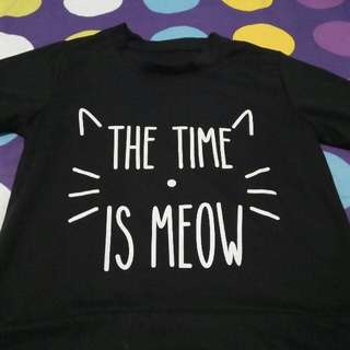 Sweater The Time Is Meow
