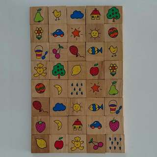 Picture Wooden Blocks