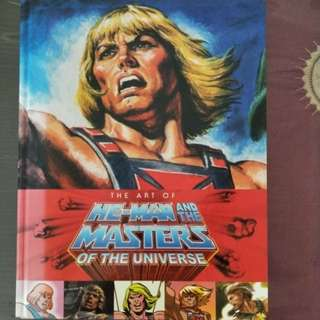 Motuc He Man Art Book