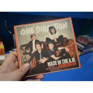 ONE DIRECTION MADE IN THE AM DELUXE VERSION