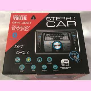 Proline 99BT Car Stereo Brandnew