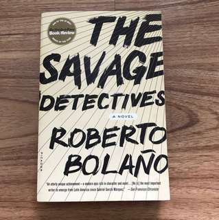 The Savage Detectives by Roberto Bolano (rated 4.1/ 5 stars at Goodreads.com)