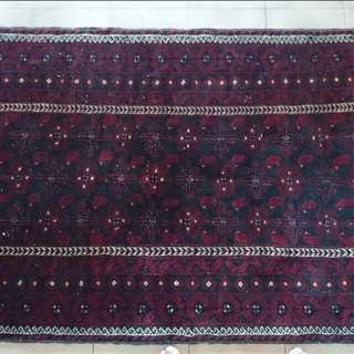 Tribal carpet for trade with SILK carpet