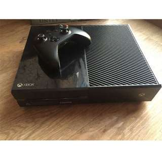 Xbox One 1TB with 7 games