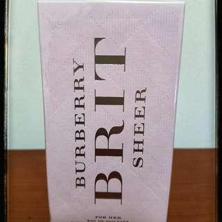 Burberry Brit Sheer 100 ml