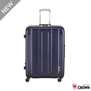 🚚 【Chu Mai】CROWN LINNER 26吋鋁框拉桿箱 行李箱 旅遊箱 商務箱 旅遊箱 旅行箱-深藍色(免運)