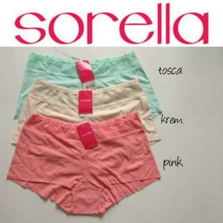 SORELLA Seamless Panty Size L (Tosca)
