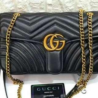 GG Marmont medium matelassé shoulder bag (ON HAND)