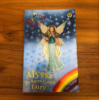 Rainbow Magic Alyssa the Snow Queen Fairy