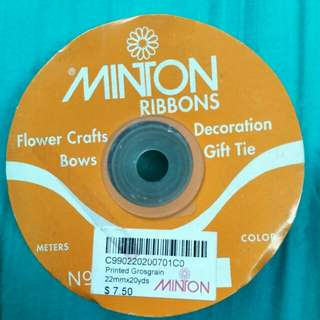 Grossgrain Printed Ribbons