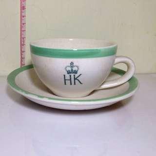 97回歸香港警察紀念杯碟收藏品