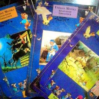 Buku Cerita Untaian Kisah-Kisah Termasyhur Tiara Mustika