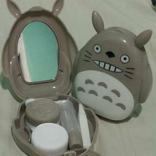 Totoro Contact lens travel kit