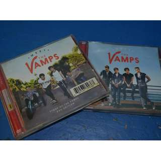 MEET THE VAMPS CD & DVD BUNDLE