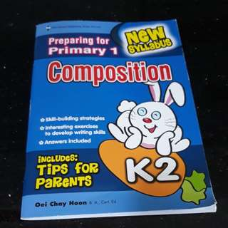 Preparing for primary 1(composition)