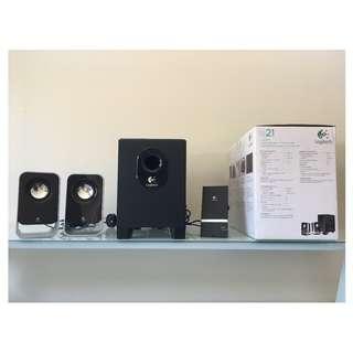Logitech LS21 PC speakers