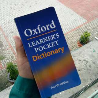 Kamus oxford (learner's pocket dictionary)
