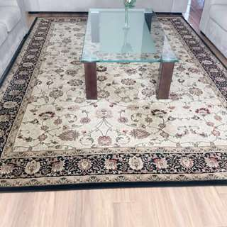 Rug with runner