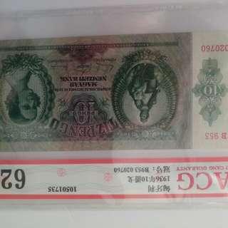 Acg匈牙利認證紙鈔