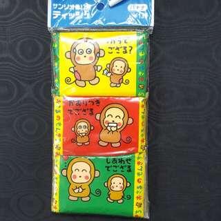 Sanrio 馬騮仔MM 紙巾