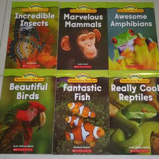 Scholastics Science Vocabulary Readers