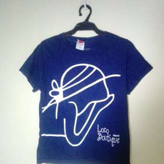 Dark blue tees