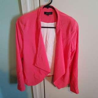 New Waterfall style jacket - size 8 uk