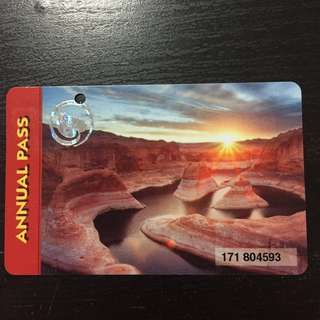 US Nationa Parks Annual Pass (Exp Oct'18)