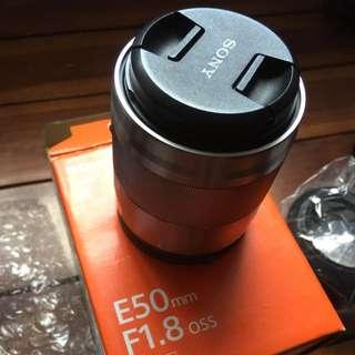 Sony lens 50mm f1.8