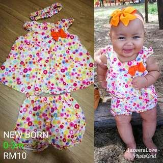 Baby 2piece dress