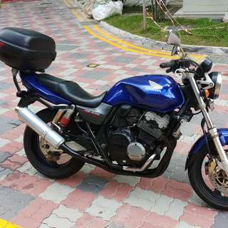 2001 cb400 spec1 for sale