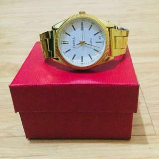 Faux Gold Watch