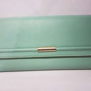 Charles & Keith Wallet (Color: Mix of Turquoise & Cyan)
