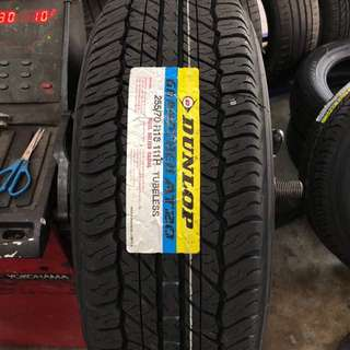 255/70/16 At20 Dunlop Tyre
