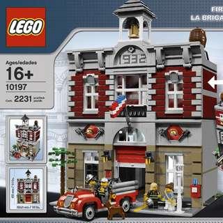 Lego MISB 10197 Fire Brigade 消防局 ( 100% 靚盒 ) 全新