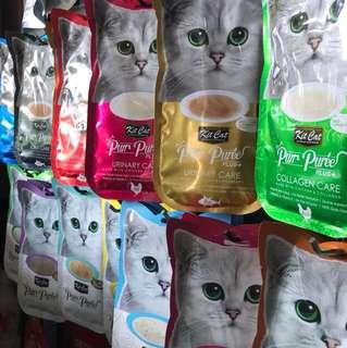 Kit cat Purr Puree (4x15gm)