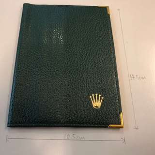 Vintage Rolex passport holder