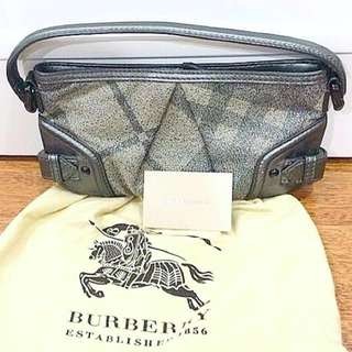 <Reduced> Authentic BURBERRY small hand bag