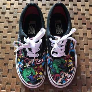 Limited edition Vans Marvel Comics
