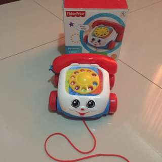 Fisher price toy telephone