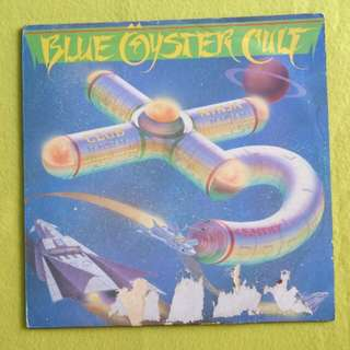 BLUE OYSTER CULT. club ninja. Vinyl record