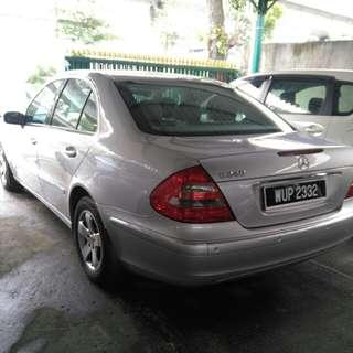 2004 m.benz e240 2.6 at elegance sedan tip top conditinal local 2004