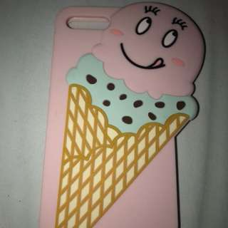 iPhone 7plus ice cream phone cover