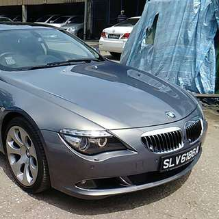 BMW 650i LCI gear 2008