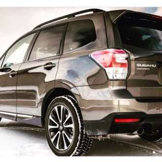 Subaru Forester XT with Turbo charge engine