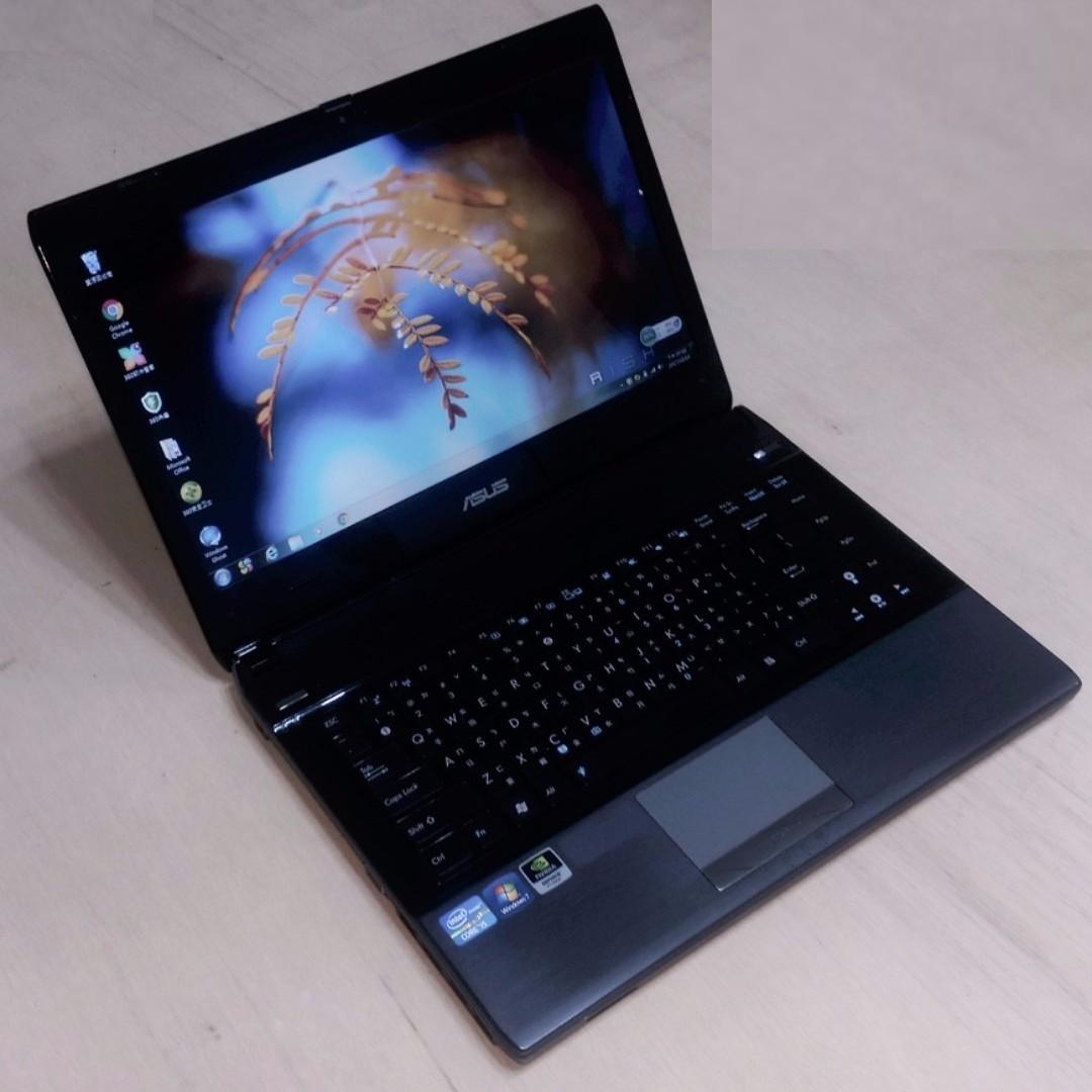 14.1吋 ASUS U41JF i7-620M / 獨顯 WXGA 高亮度LED 鏡面寬螢幕 輕薄型 筆電 ( Notebook / Laptop ) !!