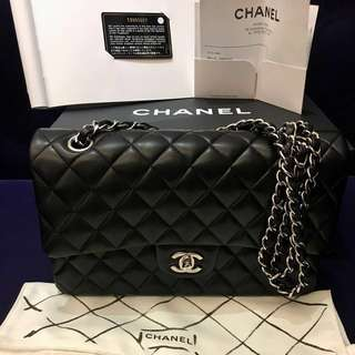全新 Chanel Classic Flap Medium Lambskin 羊皮