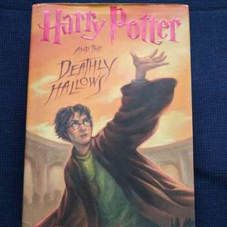Harry Potter and the Deathly Hallows Hard Cover Book